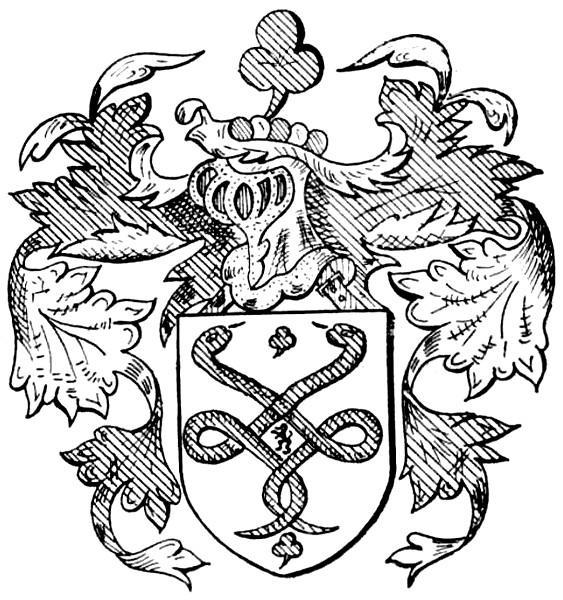 Familiewapen Alenus (Alen) (uit: Limburgse families en hun wapen (1973), p. 2)
