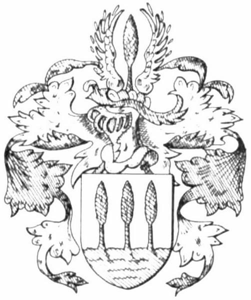 Familiewapen Bamps, burgemeesters 19de eeuw (uit: Het Belang van Limburg, 17-04-1982, p. 43)
