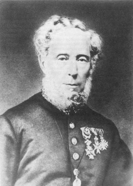 Portretfoto Joseph Bovy (1810-1879) (uit: De Gouverneurs in de beide Limburgen 1815-1989 (1989), p. 194; herkomst foto: PAD Hasselt)
