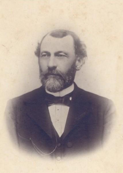Portretfoto Cyrille (Cyriel) Elens (1846-1936) (privécollectie)