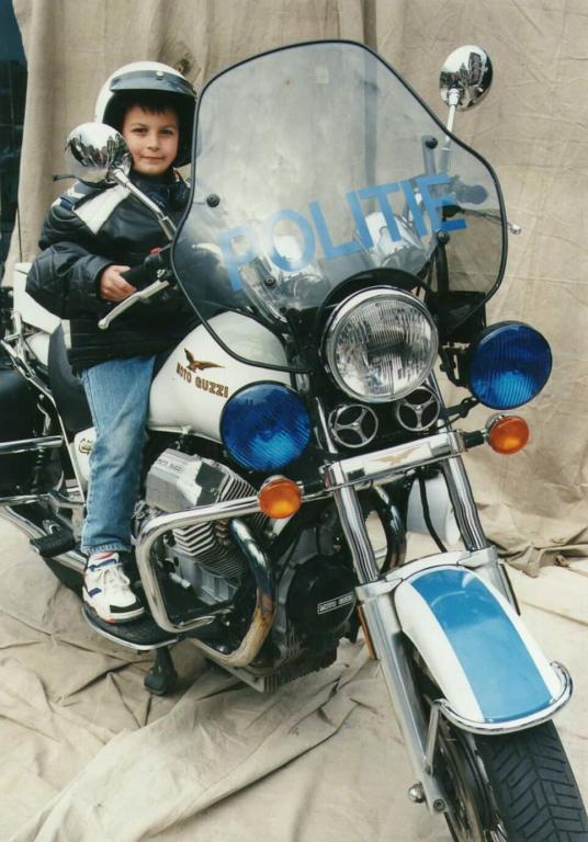 Hasseltse politie: opendeurdag 1995 (foto: privécollectie)