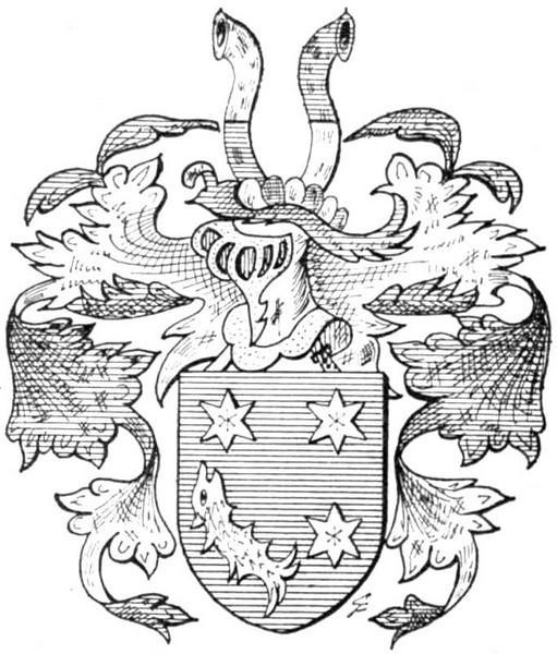 Familiewapen Maris (uit: Het Belang van Limburg, 26-05-1973, p. 16)