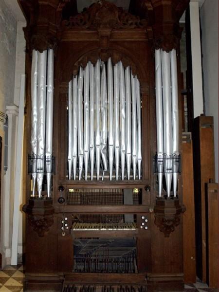 Orgel, Van Peteghem, ca. 1850 (uit: Orgelgids (2005), p. 79)