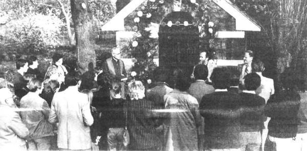 Kapel Onze-Lieve-Vrouw van Zeven Smarten, plechtige inwijding (uit: Wijkkapelletje in Pietelbeekstraat te Hasselt opnieuw in gebruik (1983))