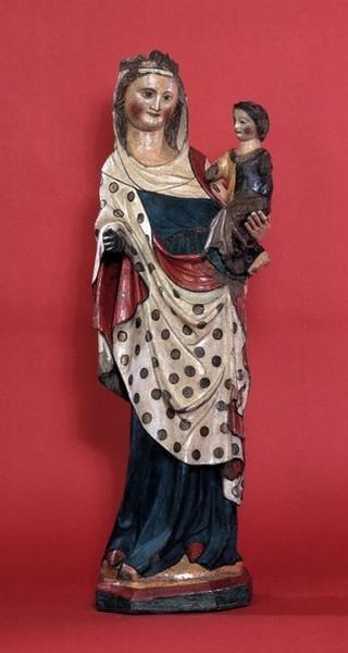 Virga Jessebeeld - Beeld Onze-Lieve-Vrouw Virga Jesse