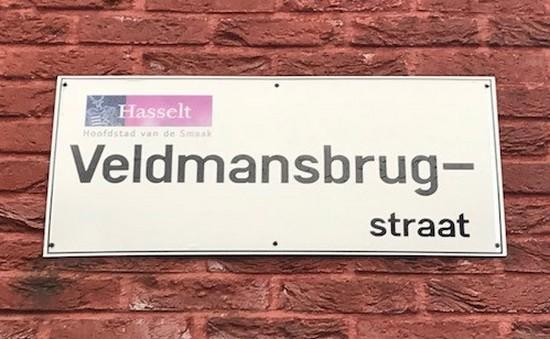 Veldmansbrugstraat - straatnaambord