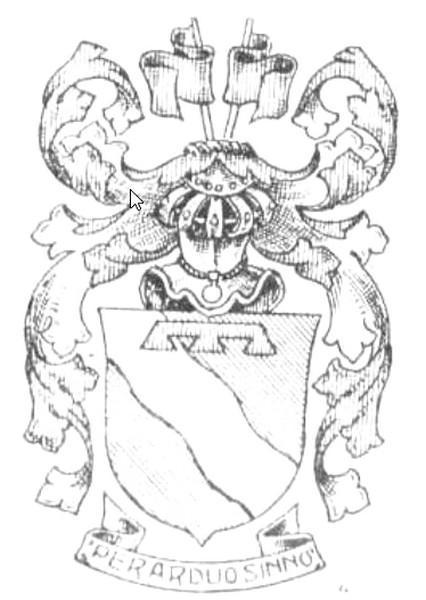 Familiewapen (de) Magnée (uit: Het Belang van Limburg, 27-12-1980, p. 31)