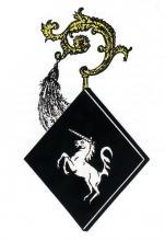 Wapen Beatrix van Reckoven, abdis Herkenrode (1442-1446/1447) (uit: Wapenboek (2004))