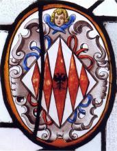 Glasraam Herkenrode (collectie Het Stadsmus)