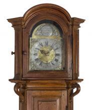 Staande klok (detail), Joannes Augustinus, 1761, Hasselt (collectie Het Stadsmus Hasselt, inv. nr. 2000.0113; foto: Erwin Maes, 2013)