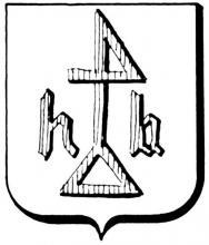 Familiewapen Ballen (uit: Het Belang van Limburg, 22-09-1979, p. 43)