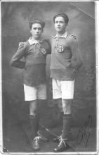 Louis Berten en Jules Houben, 1920