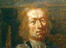 Portret Jan-Arnold van Melbeek (uit: Broederschapspaneel O.-L-Vrouw Virga Jesse, 1709 - collectie Het Stadsmus Hasselt)