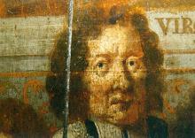 Portret Librecht van Elsrack (uit: Broederschapspaneel O.-L-Vrouw Virga Jesse, 1709 - collectie Het Stadsmus Hasselt)