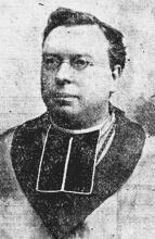 Portretfoto Joannes Broux (1853-1927) (uit: In Memoriam Hoog Eerw. H. Joannes Broux (1927))