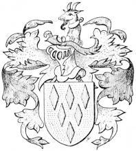 Familiewapen Buckinx (uit: Het Belang van Limburg, 20-03-1971, p. 12)