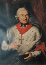 Prins-bisschop Constantijn Frans van Hoensbroek (1724-1792), olieverfportret (collectie Kasteel Hoensbroek-NL)