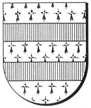 Familiewapen (de) Corswarem (uit: Oog in Oog (2003), p. 129)