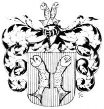 Familiewapen (de) Courtejoie (uit: Het Belang van Limburg, 12-04-1975, p. 31)