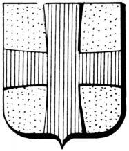 Familiewapen Cruts (uit: Het Belang van Limburg, 06-08-1977, p. 27)