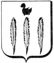 Familiewapen Davignon (uit: Het Belang van Limburg, 10-03-1979, p. 47)