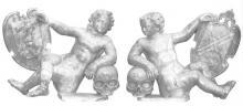 Bekroning grafmonument Hendrik Duyfkens (+1616) (collectie Het Stadsmus Hasselt)