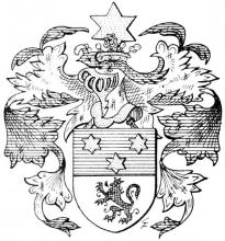 Familiewapen d'Erckenteel (uit: Limburgse families en hun wapen (1984), p. 121)