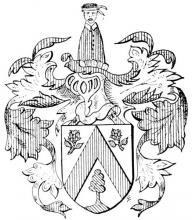 Familiewapen Aerts (uit: Limburgse families en hun wapen (1973))