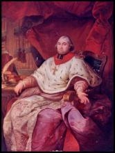Prins-bisschop Frans Antoon de Méan (1756-1831), olieverfportret (uit: Wikipedia)