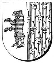 Familiewapen Frederici (uit: Oog in Oog (2003), p. 166)