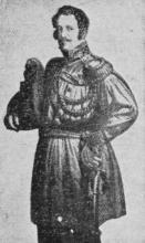 Baron van der Linden d'Hooghvorst (uit: Dat was de Garde Civique (II) / Uit België's Onafhankelijkheidsstrijd geboren (1954))