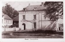 Voormalig gemeentehuis Kermt (collectie Daniël Lambrechts)