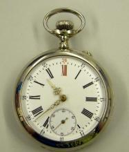Zilveren zakhorloge, ca. 1910, Carl Hören-Vaes (collectie Het Stadsmus Hasselt)