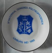 Hasseltse politie: Congres politieofficieren, met deelname Hasseltse politie, 1985 (foto: privécollectie)