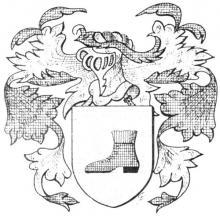 Familiewapen (de) Holzschuher (uit: Het Belang van Limburg, 12-01-1974, p. 8)