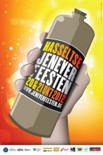 Affiche 'Jeneverfeesten 2012'