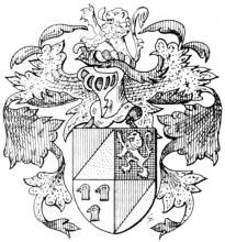 Familiewapen Jackaerts (uit: Het Belang van Limburg, 17-07-1982, p. 29)