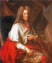 Portret prins-bisschop Jozef Clemens van Beieren (1616-1694) (uit: Wikipedia)