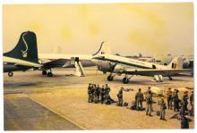 Vliegveld van Elisabethstad, foto genomen door Jozef Verlaak, 10 juli 1960 (foto: privécollectie)