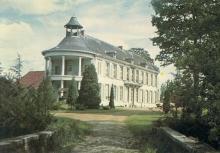 Kasteel Henegauw voor de brand in 1974