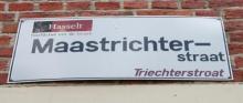 Straatnaambord Maastrichterstraat