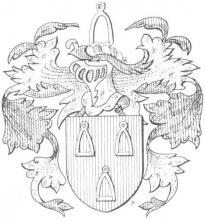 Familiewapen Mannaerts (uit: Het Belang van Limburg, 28-10-1972, p. 16)