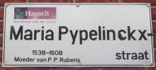 Maria Pypelinckxstraat - Straatnaambord