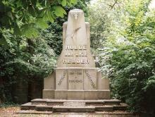 Monument 'Belg voor Alles', Boomkensstraat (foto: Annemie America)