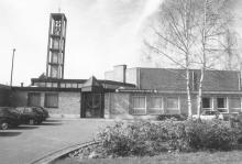 Ontmoetingscentrum Heilig Kruis, Kruisherenlaan 29 (uit: Hasselt / Gids Ontmoetingscentra (s.d.), p. 25)