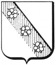 Familiewapen Pauls (uit: Het Belang van Limburg, 01-10-1977, p. 39)