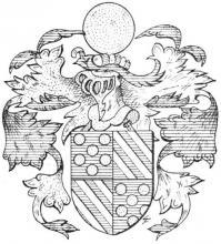 Familiewapen Poelmans (uit: Het Belang van Limburg, 18-04-1970, p. 15)