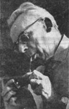 Portretfoto Hendrik Prijs (1898-1984), E. Stockman (uit: Het Belang van Limburg, 11-03-1967, p. 21)