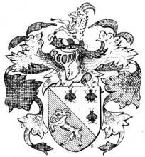 Familiewapen Quaedvlieg (uit: Het Belang van Limburg, 21-09-1974, p. 35)