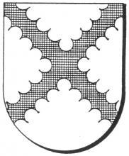 Familiewapen Roelants (uit: Oog in Oog (2003), p. 247)